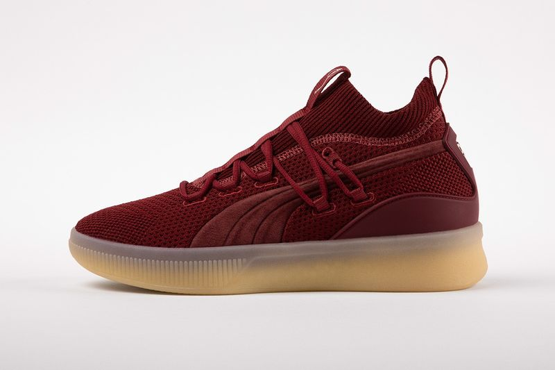 Celebratory Knit Basketball Shoes - Def Jam and PUMA Unveil a New Clyde Court Sneaker Collaboration (TrendHunter.com)