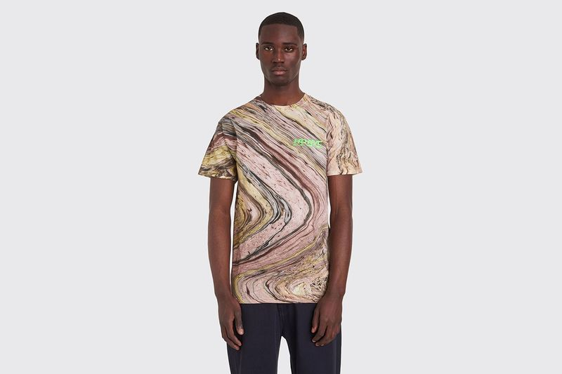 Colorful Marbled Dyed Shirts