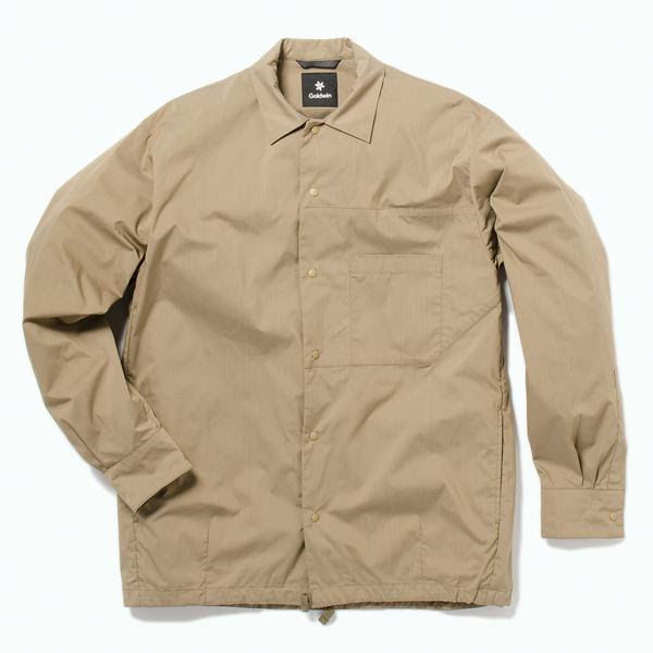 Dapper Wind-Resistant Jackets : Coach Jacket Shirt
