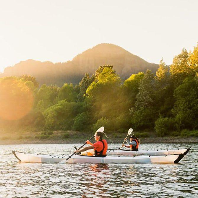 Enlarged Folding Kayaks : folding kayak