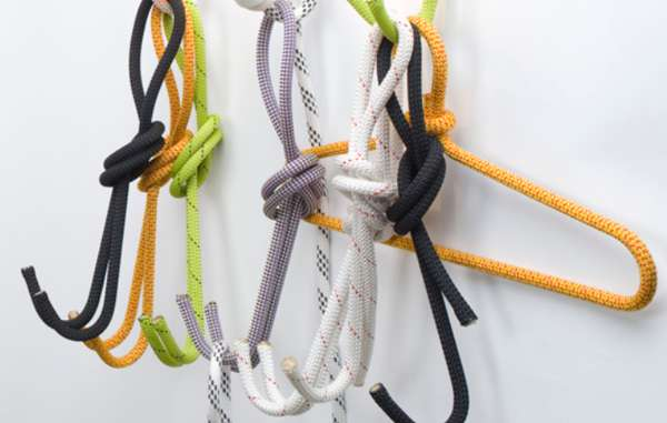 Coat Hook Designs recycled rope hangers : coat hook design