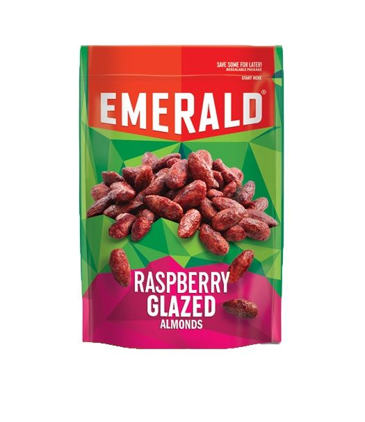 Raspberry-Flavored Almonds