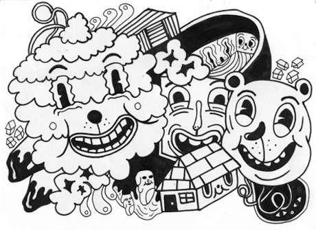 Zany Cartoon Art