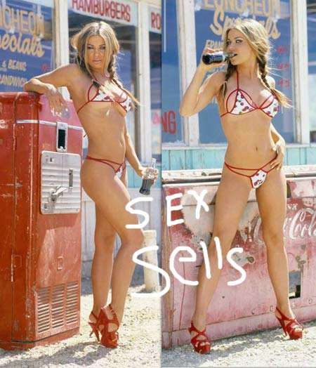 Coca Cola Gets Dirty with New Carmen Electra Ads