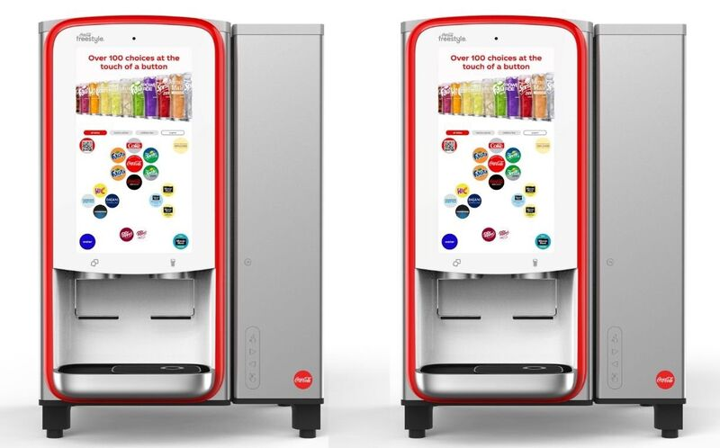Connected Compact Soda Fountains