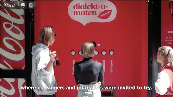 Dialect-Accepting Vending Machines
