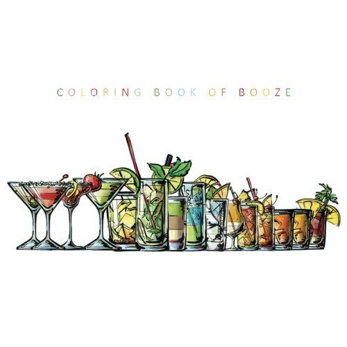 Coloring Cocktail Books
