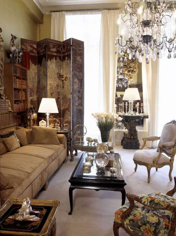 Intricately Indulgent Iconic Interiors : Coco Chanel Paris Apartment