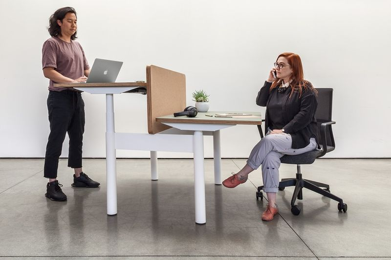 Alternative Cubicle Workstations