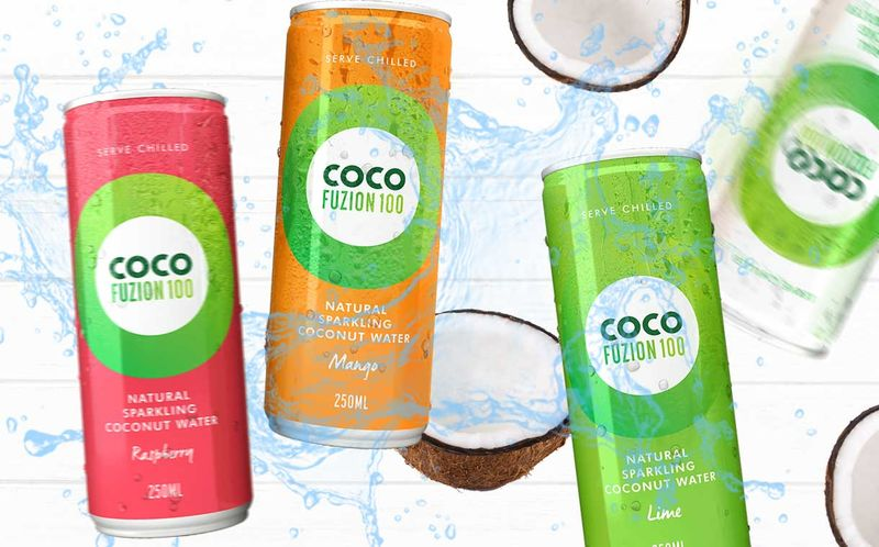 Sparkling Coconut Water Refreshments
