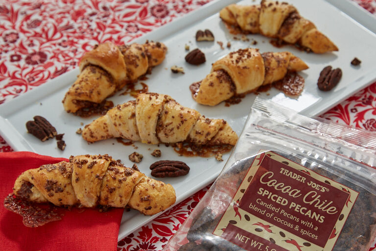 Chocolate Chile-Spiced Pecans