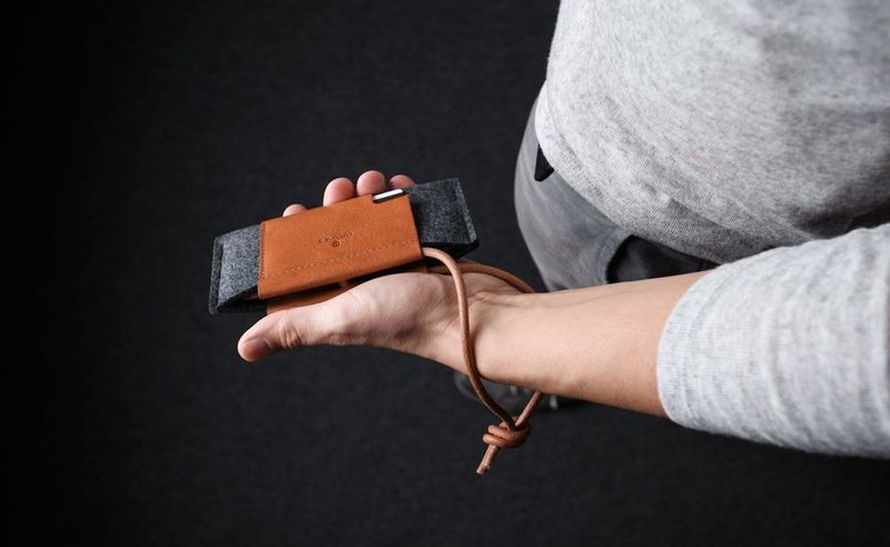 Mixed-Material Smartphone Wallets