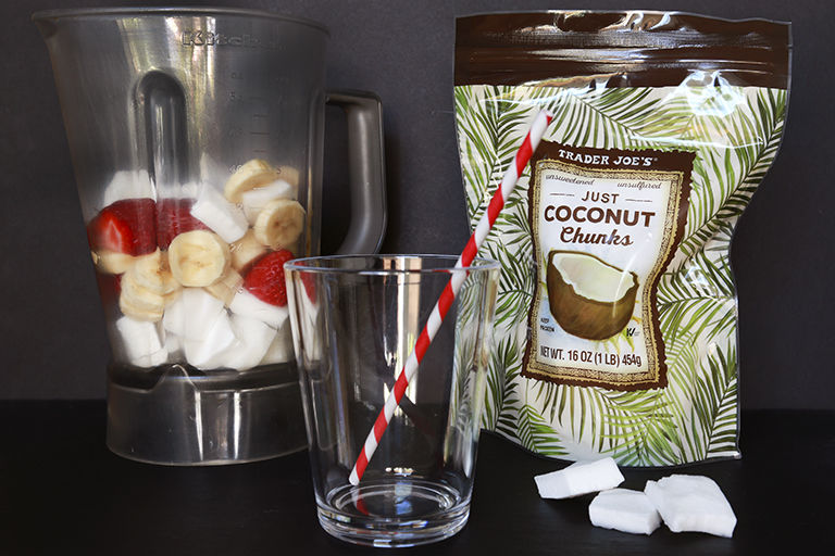 Prepackaged Coconut Chunks