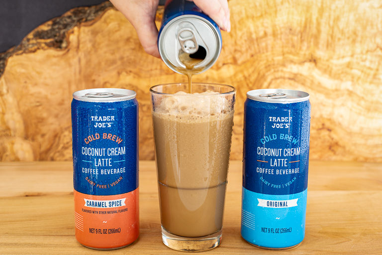 Canned Coconut Cream Lattes
