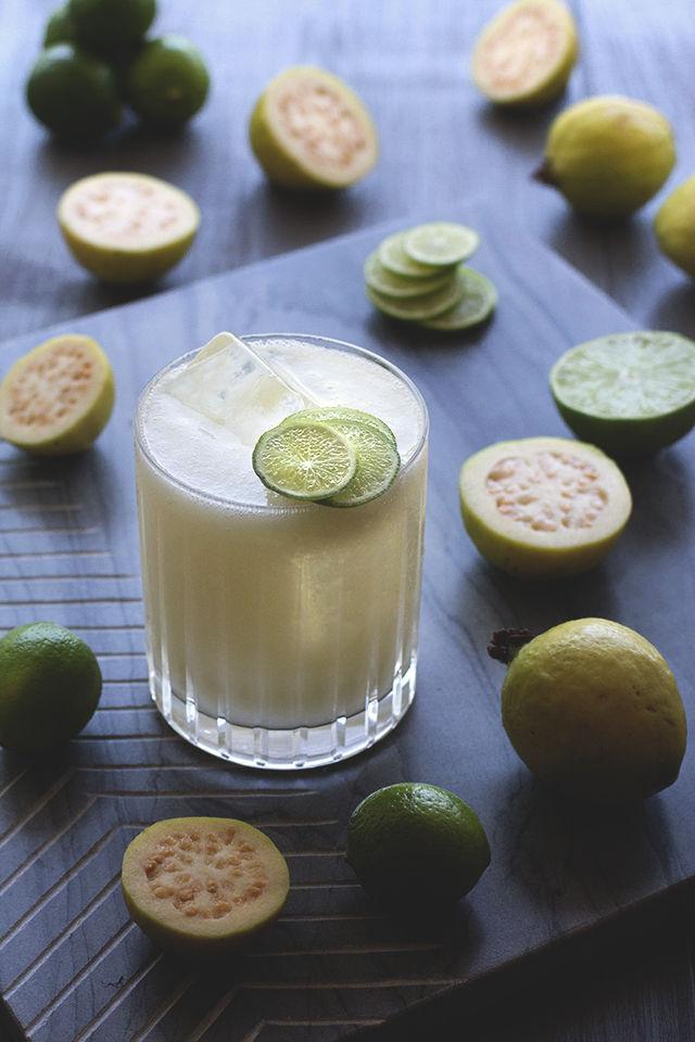 Citrus Guava Sodas