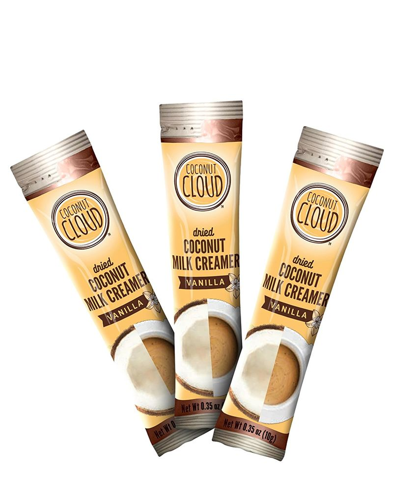 Plant-Based Coffee Creamer Sticks