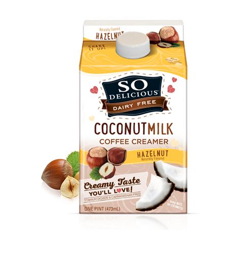 Flavored Coconut Milk Creamers
