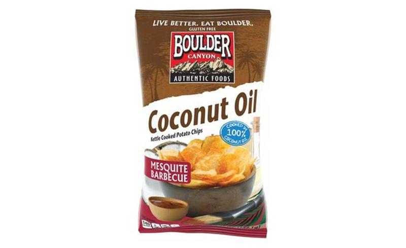 Coconut Oil Snack Chips