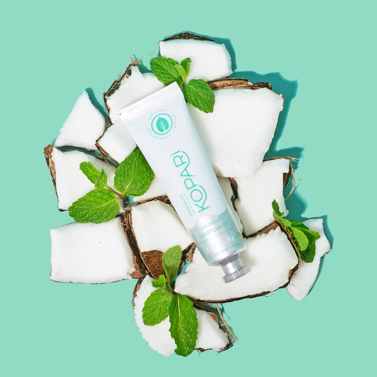 Antimicrobial Coconut Toothpastes