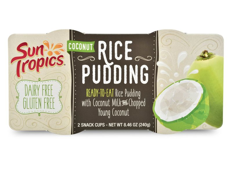 Exotic Rice Pudding Cups
