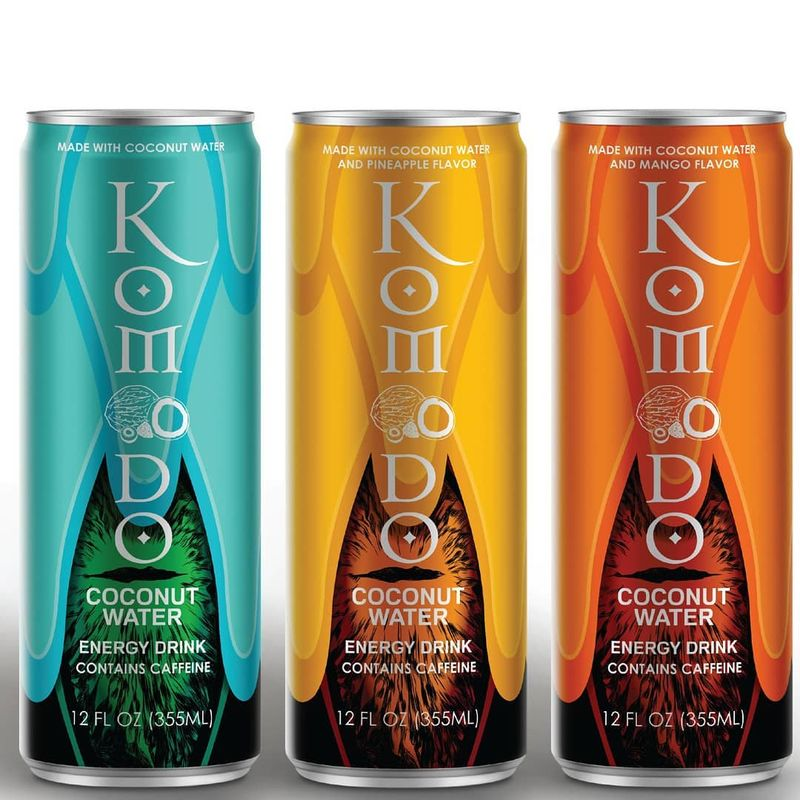 Caffeinated Coconut Water Beverages Coconut Water Beverages