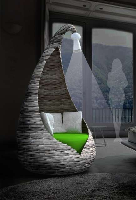 Enveloping Teepee Chairs