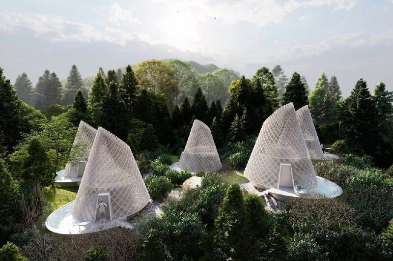 Conic Bamboo Eco-Tourism Cabins