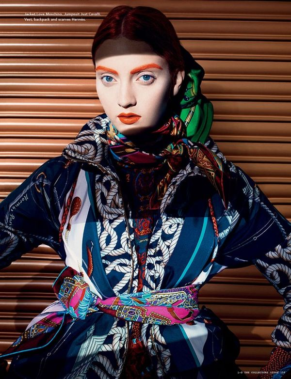 Vibrant Futuristic Fashion