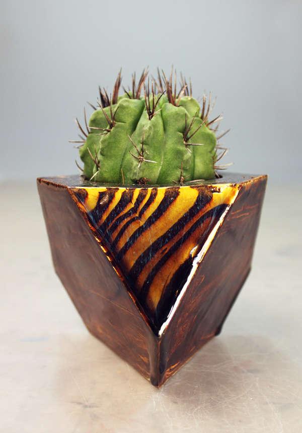 Geometric Gemstone Planters