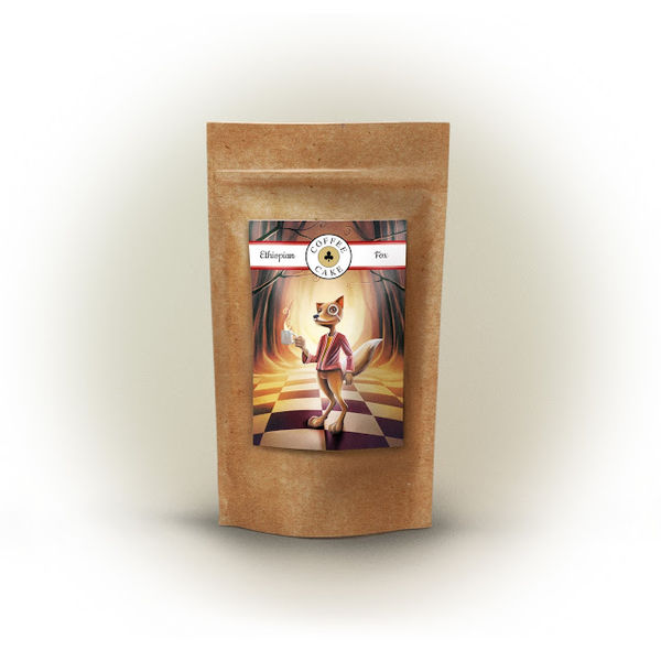 Wonderland Coffee Branding