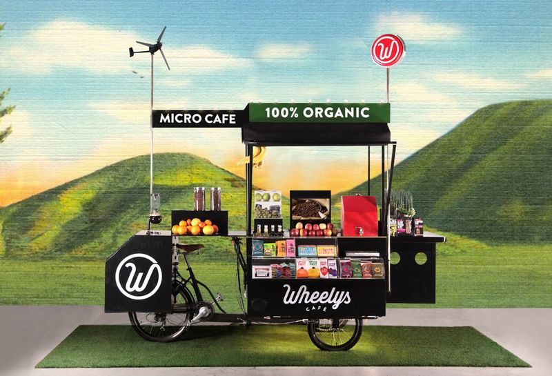 Air-Purifying Coffee Carts