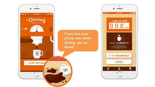 Driver-Rewarding Coffee Apps