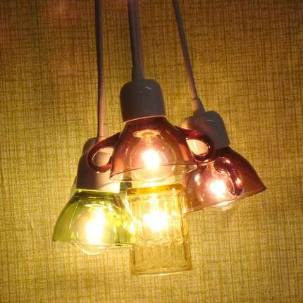 Coffee Cup Lamps