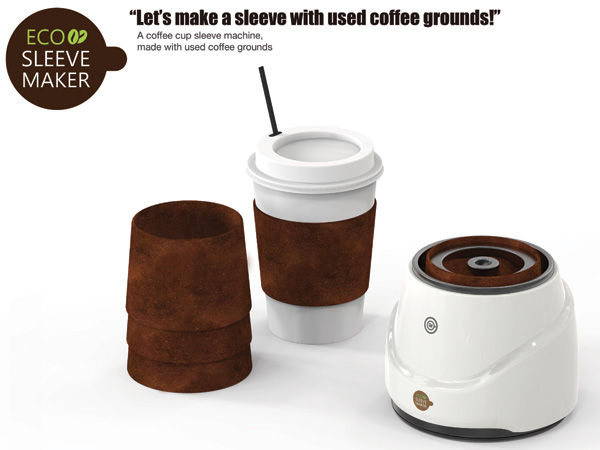 Recycled Coffee Collars