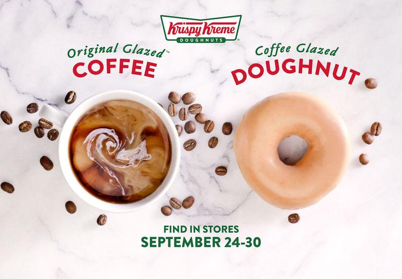 Coffee-Glazed Donuts