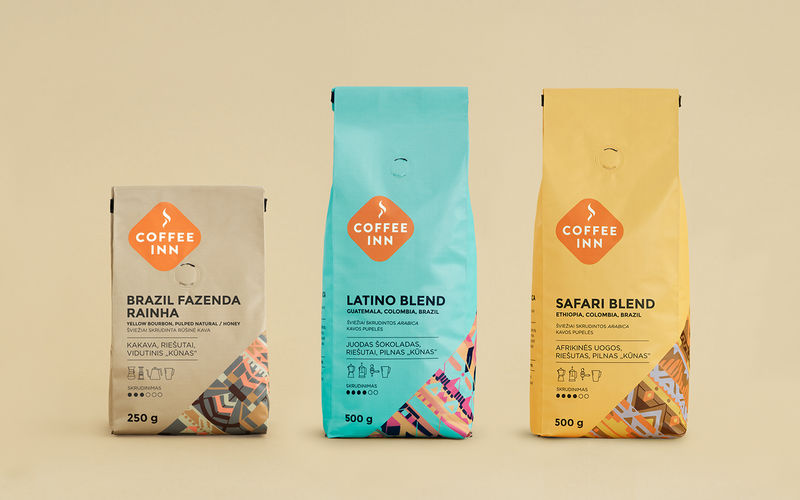 Pattern-Enriched Coffee Packaging