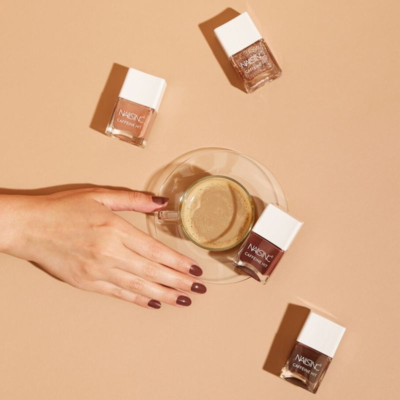 Caffeine-Infused Nail Polish