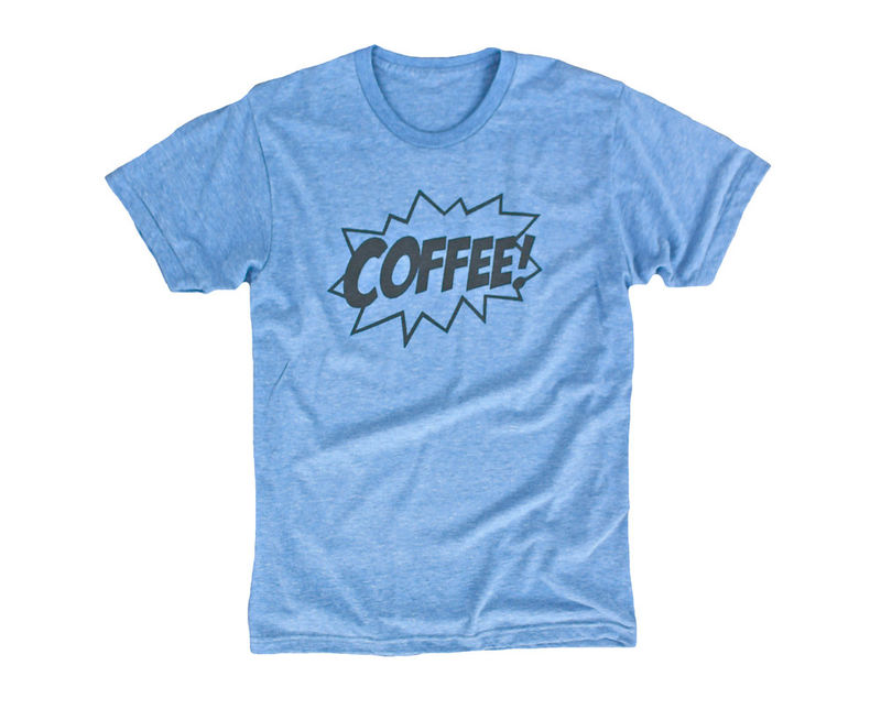 Coffee-Dyed T-Shirts