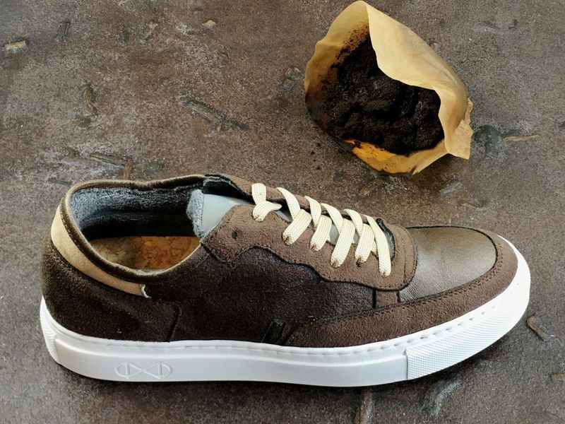 Repurposed Coffee Ground Sneakers