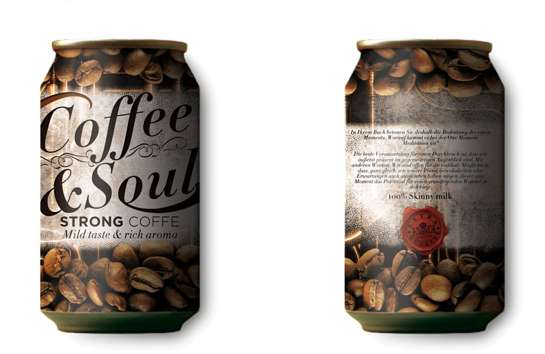 Canned Cuppa Branding