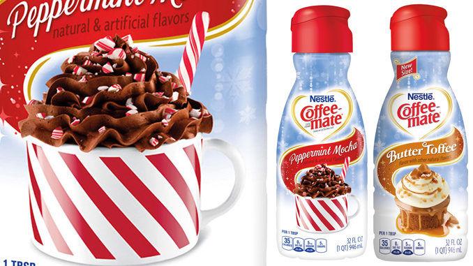 Seasonally Indulgent Coffee Creamers