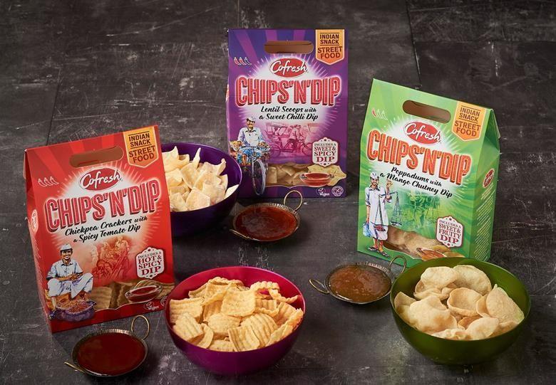 Indian Street Food-Inspired Snacks