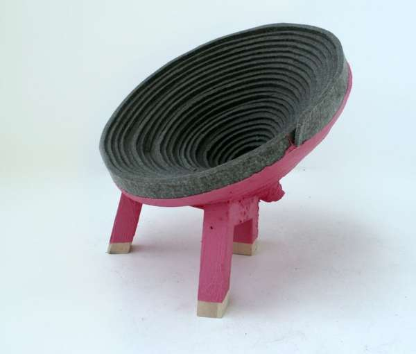 Spiraling Vortex Chairs