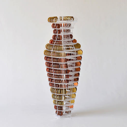 Currency Display Vases
