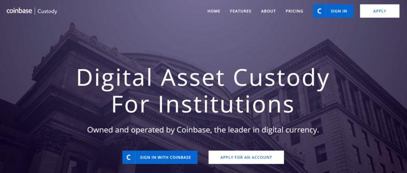 Custodial Cryptocurrency Storage