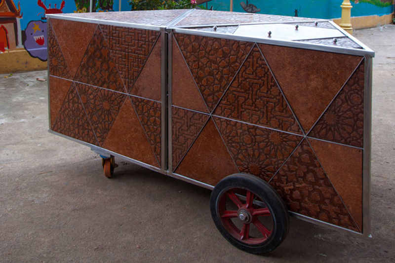 Coconut-Crafted Carts