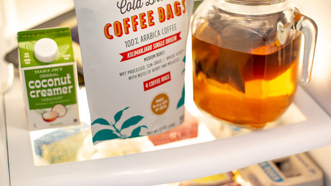 Simplified Preparation Coffee Pouches