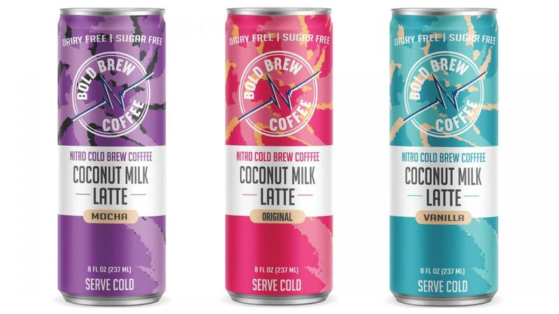 Canned Coconut Milk Lattes