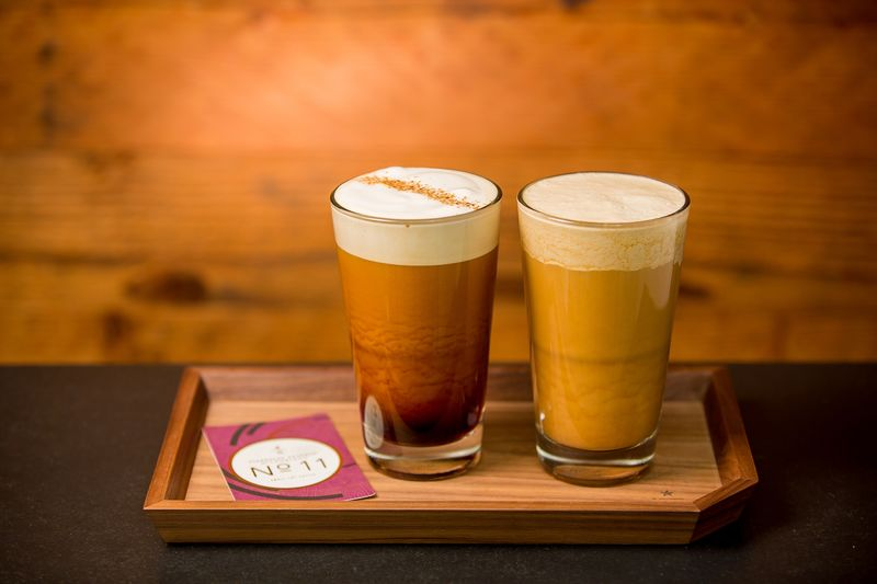Flavor-Enhanced Nitro Coffees