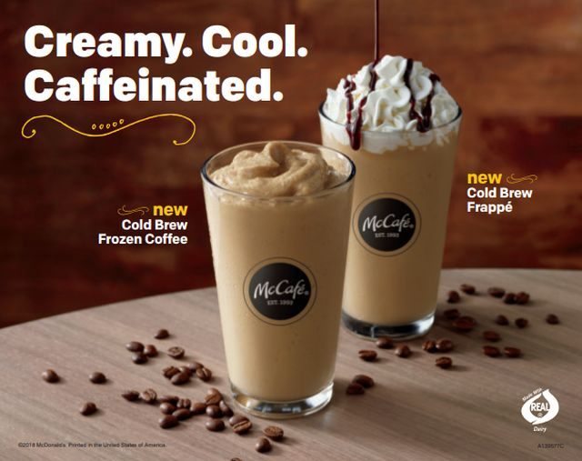 Mainstream Cold Brew Drinks
